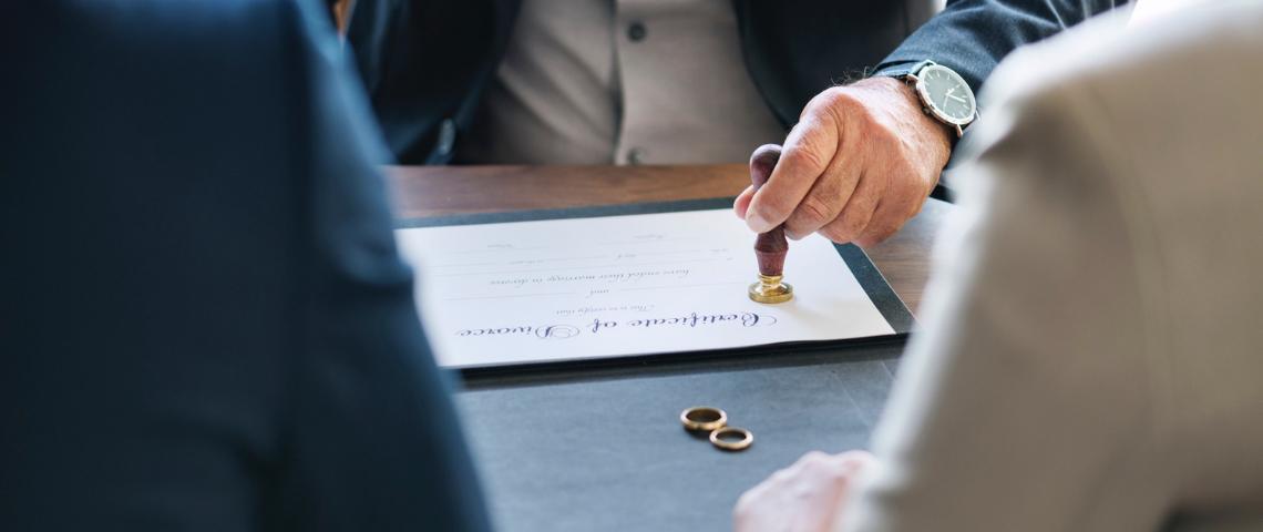 scheiden en een hypotheek